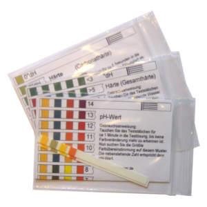 Wassertest - Schnelltest / Carbonathärte/ Gesamthärte ( Wasserhärte ) / pH-Wert