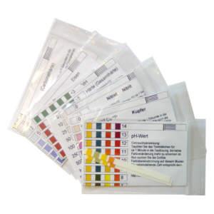 Wasserteststreifen pH-Wert -Test/ Carbonathärte-Test / GesamthärteTest (WasserhärteTest) / Nitrattest / Nitrittest/ Kupfertest / Eisen-2Test