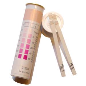 100 Teststäbchen für Nitrat und Nitrit