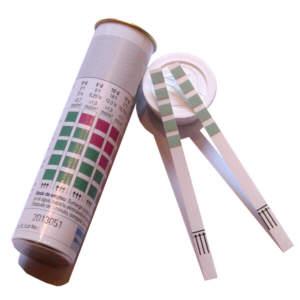100 Teststäbchen Wasserhärte (Gesamthärte)