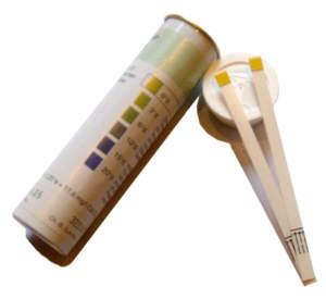 100 Teststäbchen Wasserhärte (Carbonathärte)