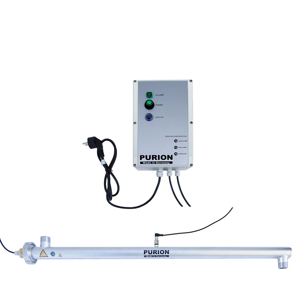 UV-Anlage Purion 2500 mit Sensorüberwachung